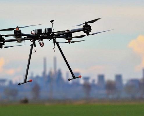 کاربرد ربات های پرنده - آسمان ایکس