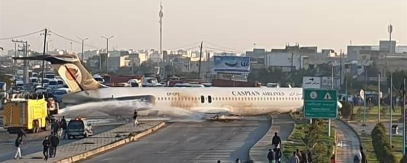 سقوط هواپیما در ماهشهر