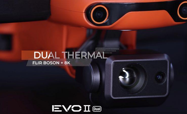 مشخصات پهپاد EVO II Dual