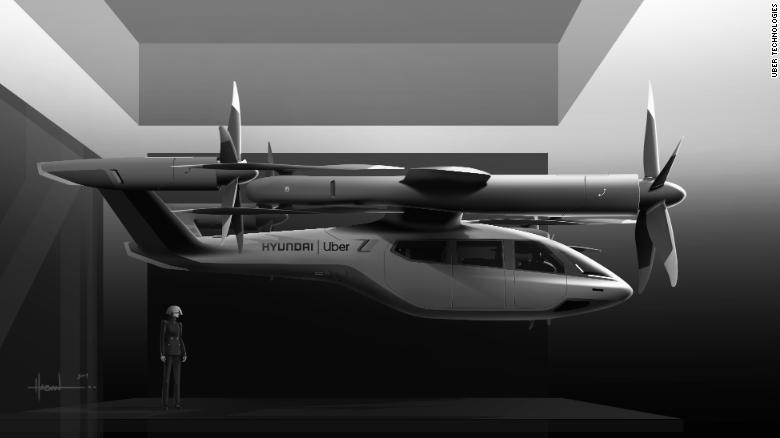 همکاری اوبر و هیوندای در ساخت تاکسی هوایی