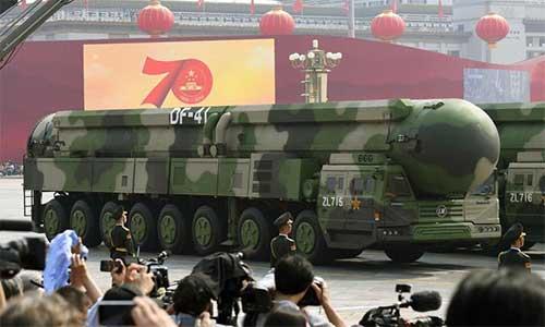 موشک بالستیک DF41 ساخت چین
