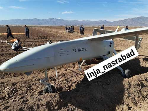 سقوط پهپاد مهاجر 6 در آران و بیدگل