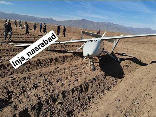 سقوط پهپاد در آران و بیدگل