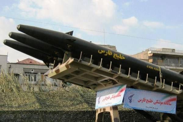 موشک بالستیک خلیج فارس